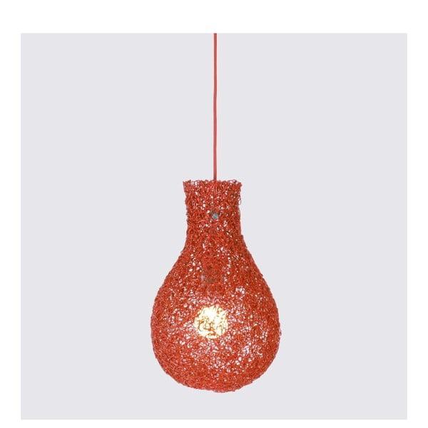 Závěsná lampa Lampion, červená