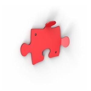 Červené háčky Puzzle, 2 ks