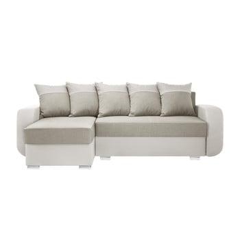 Canapea cu șezlong partea stângă Interieur De Famille Paris Destin crem