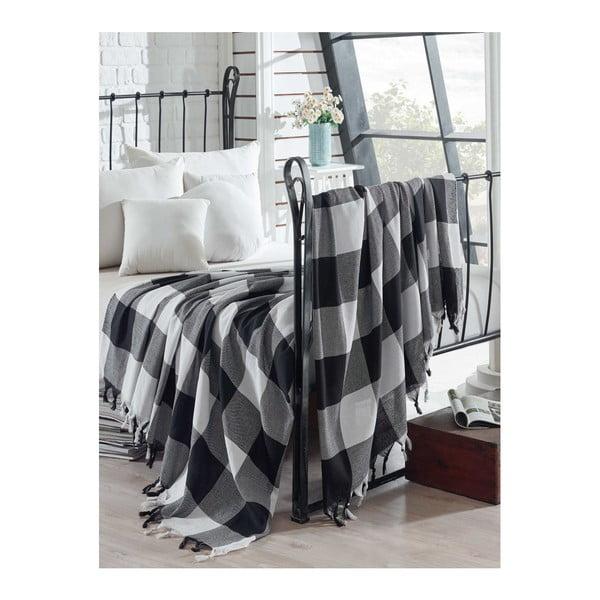 Lekka narzuta bawełniana na łóżko Dama, 200x240 cm