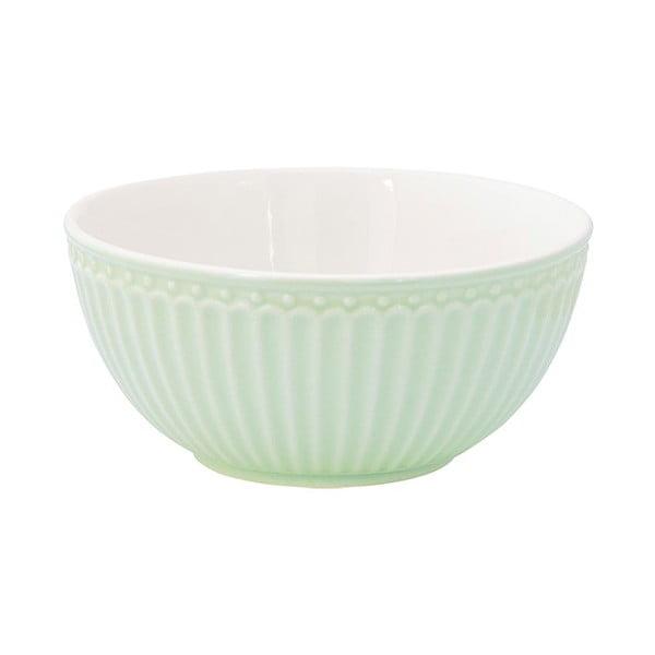 Bol din ceramică Green Gate Alice, verde