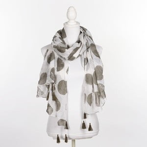 Šátek/pareo BLE Inart 100x180 cm, olivový