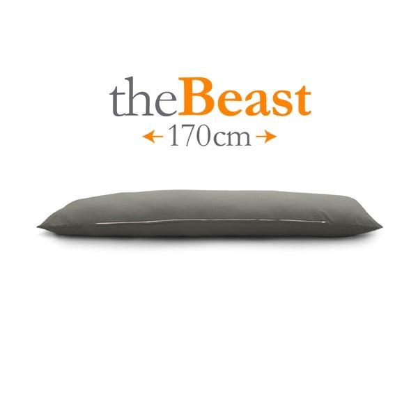 Polštář The Beast, šedý, vhodný pro kohokoli