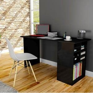 Pracovní stůl Akasya Black