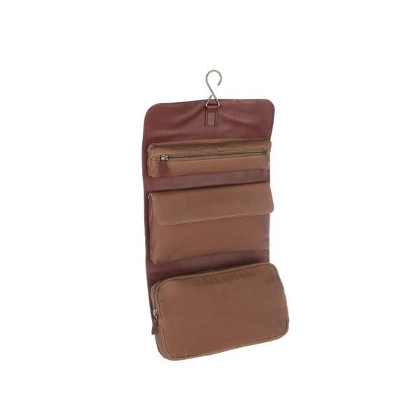 Kožená toaletní taška Grasmere Whiskey