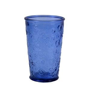 Modrá sklenice EgoDekorFlora, 300ml
