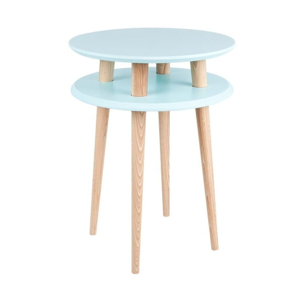 UFO világos türkiz dohányzóasztal, Ø45 cm - Ragaba