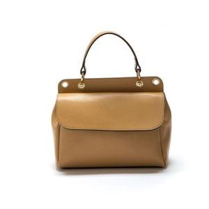 Koňakově hnědá kožená kabelka Roberta M Gabi
