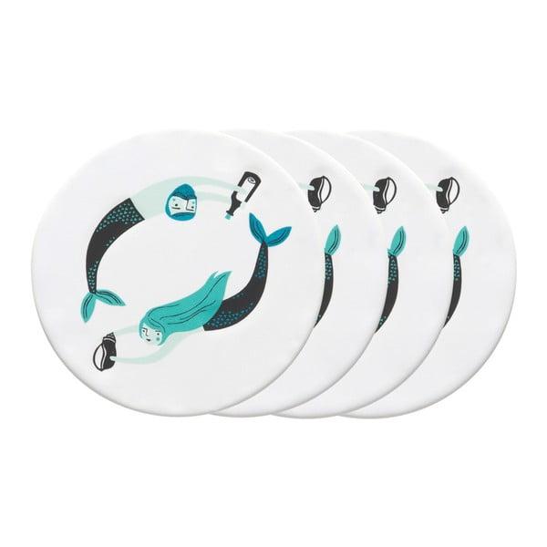 Set 4 suporturi pentru pahare Danica Sea Spell
