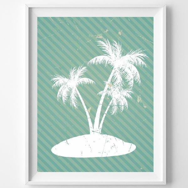 Plakát Island, A3