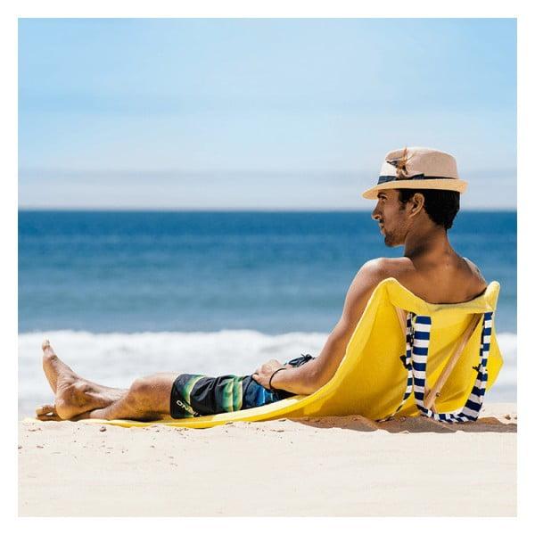 Skládací plážové lehátko a osuška v jednom Sun Seat Banana