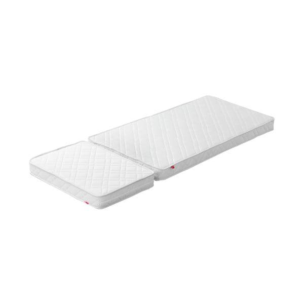 Materac do regulowanego łózka dziecięcgo Flexa White Junior, 50/70 cm