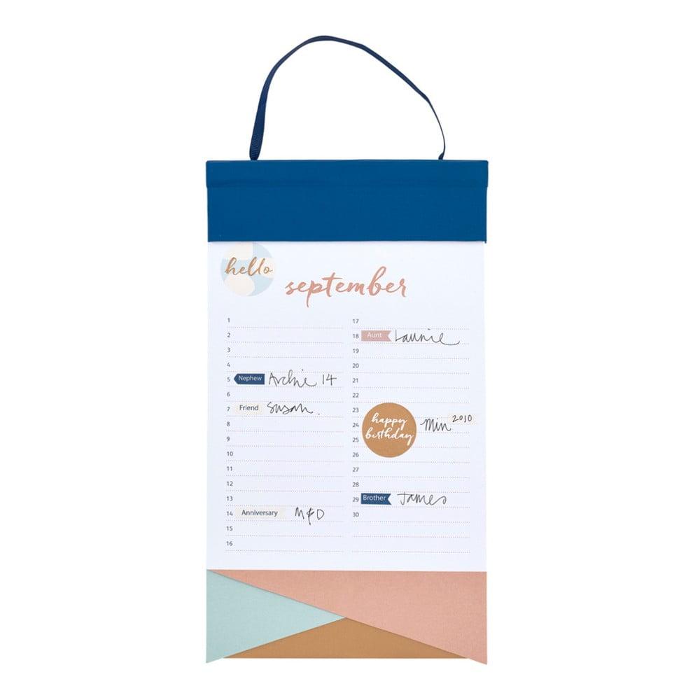 Narozeninový kalendář s lepíky Busy B Birthday