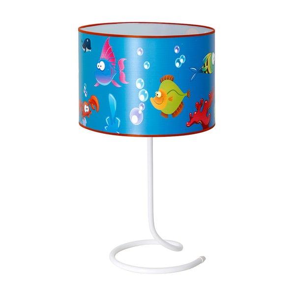 Dětská stolní lampa Glimte Aquarium