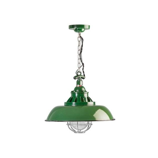 Zelené stropní svítidlo ETH Consenza