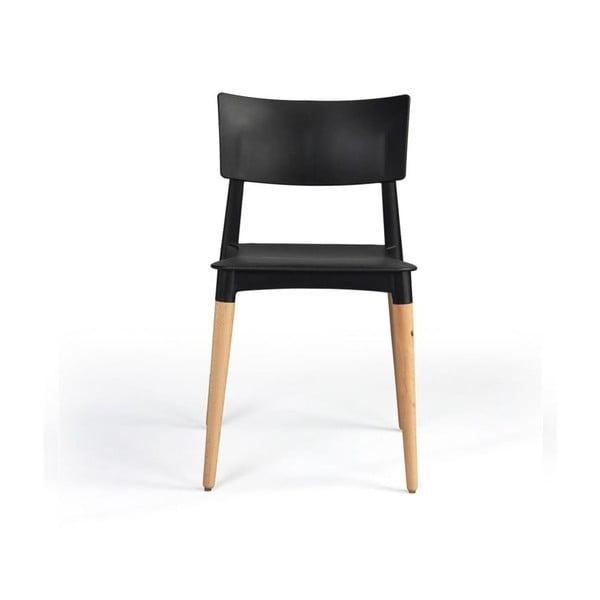 Židle Silla Olsen Negra