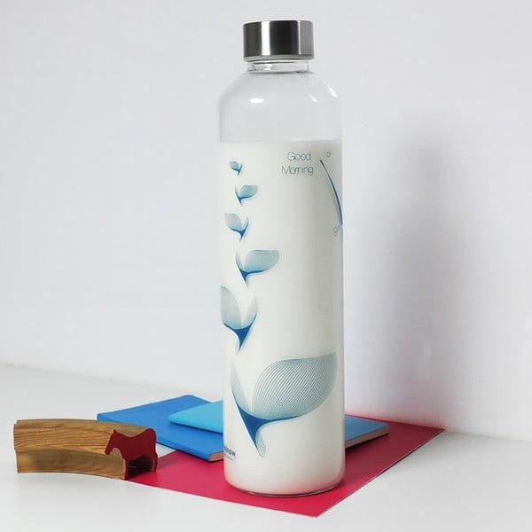 Lahev Drinkitnow Flipper 1 l, modrá