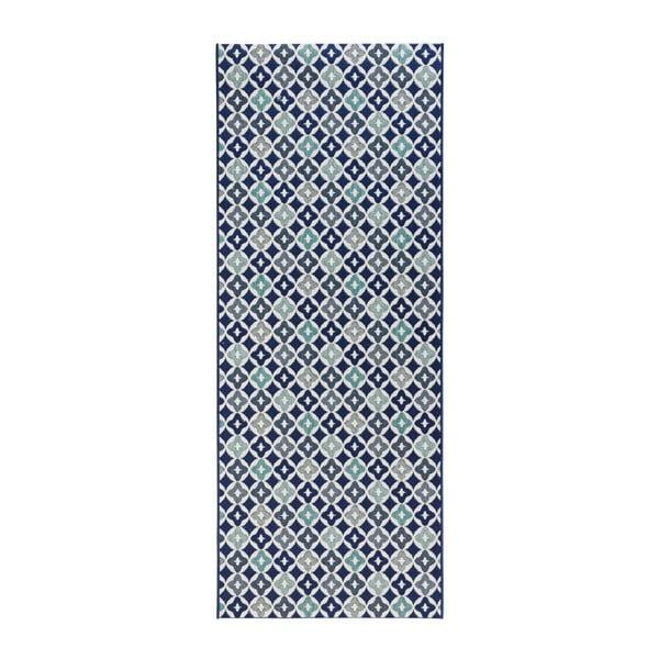 Niebieski chodnik do kuchni Hans Home Reflect, 80x200 cm