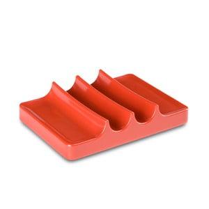 Miska na mýdlo Kali, korálová červená