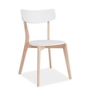 Jídelní židle s nohama z kaučukového dřeva Signal Tibi