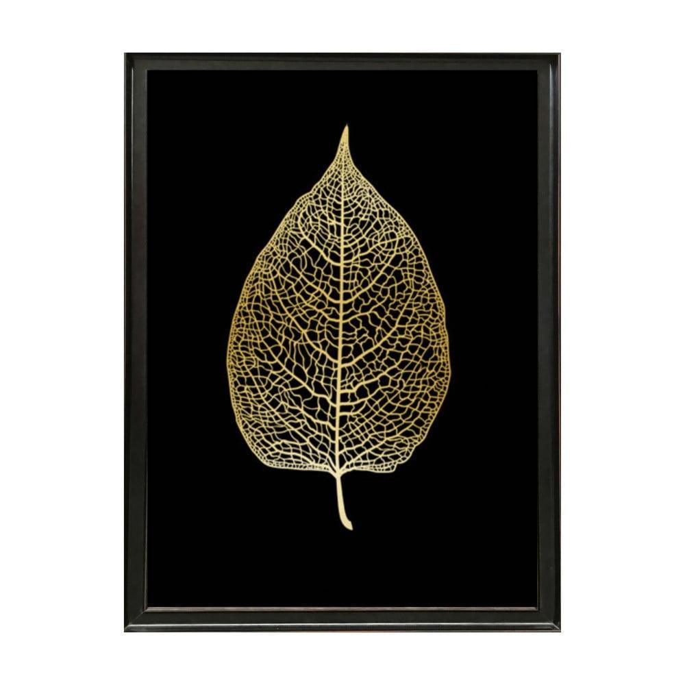 poster cu ram deluxe leaf 70 x 50 cm bonami. Black Bedroom Furniture Sets. Home Design Ideas