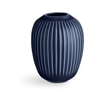 Vază din ceramică Kähler Design Hammershoi,înălțime 10 cm, albastru închis imagine