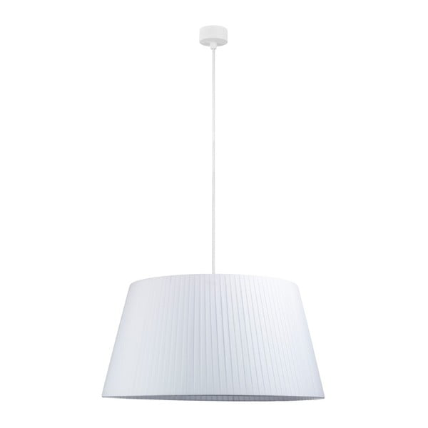 Kami fehér függőlámpa fehér kábellel, ∅ 54 cm - Sotto Luce