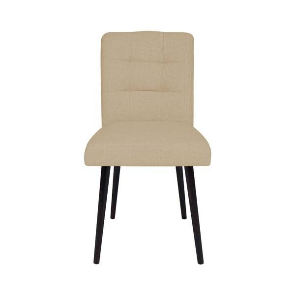 Beżowe krzesło do jadalni Cosmopolitan Design Monaco