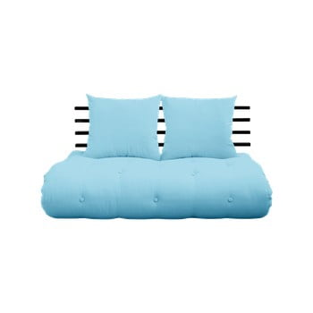 Canapea extensibilă Karup Design Shin Sano Black/Light Blue de la Karup Design