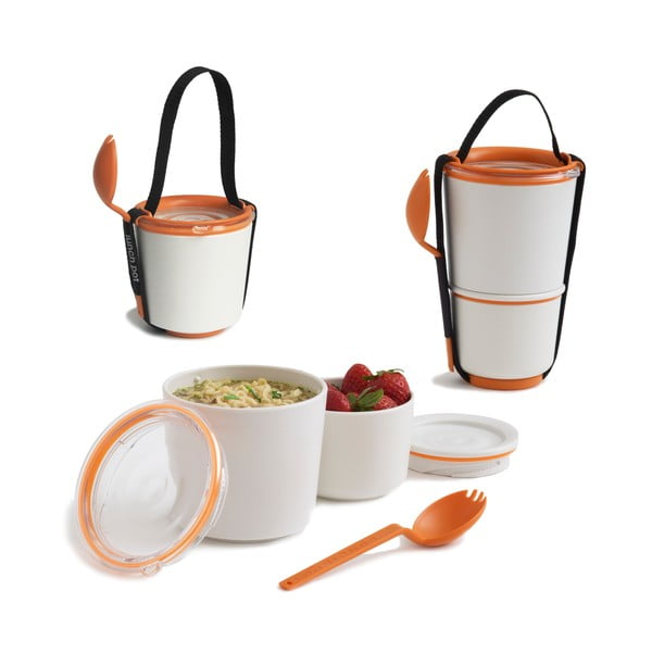 Oranžové svačinové misky Black Blum Lunch Pot