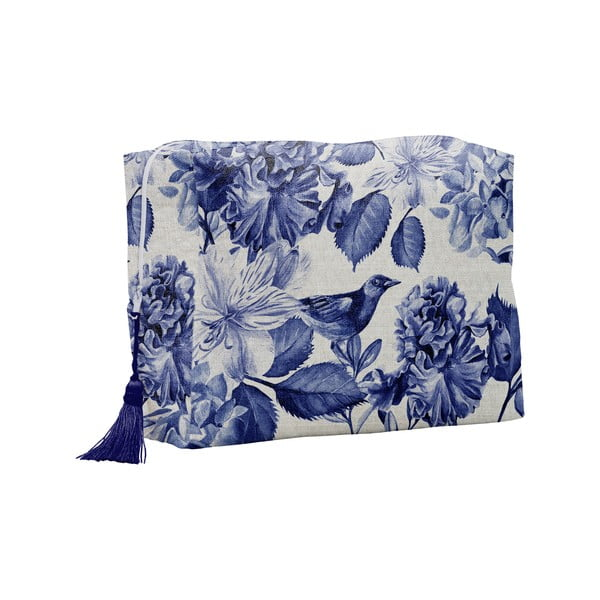 Kosmetyczka Linen Couture Blue Birds