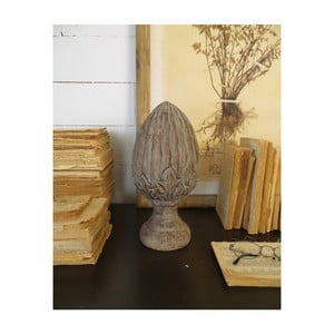 Dekorace z mangového dřeva Orchidea Milano Dario Small, ⌀ 14 cm