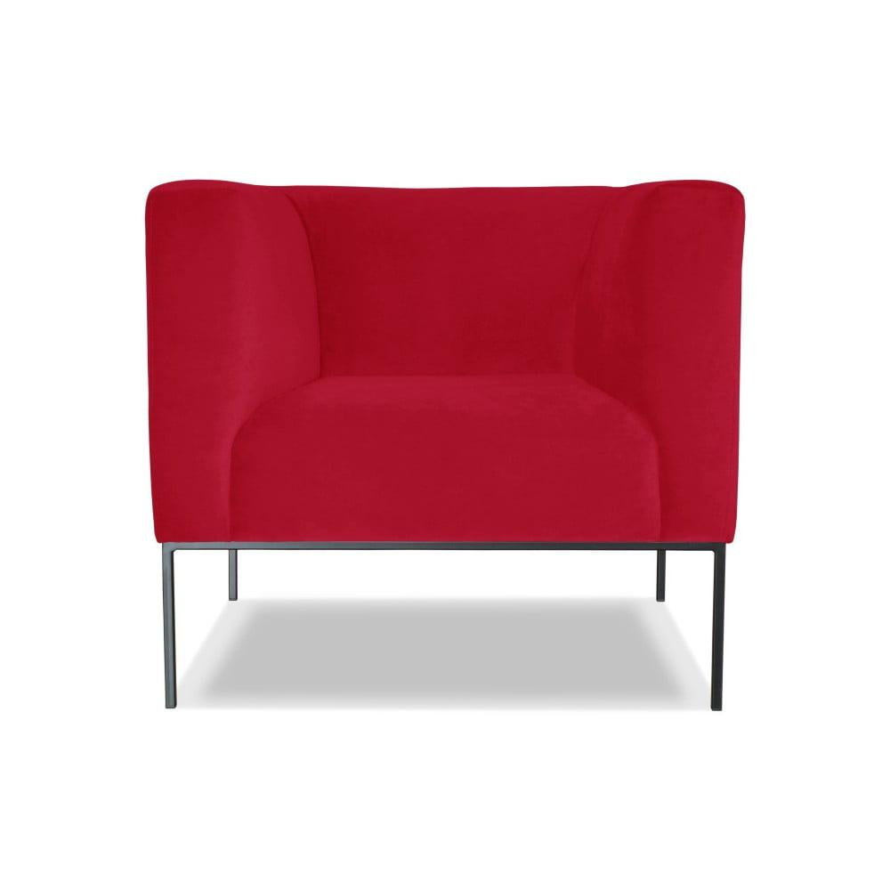Červené křeslo Windsor & Co. Sofas Neptune