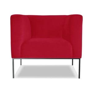 Červené křeslo Windsor &Co. Sofas Neptune