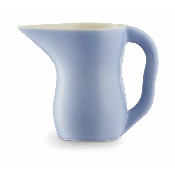 Modrofialová kameninová nádoba na mlieko Kähler Design Ursula, 420 ml