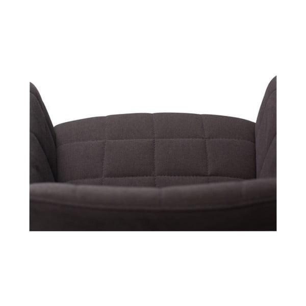 Černá jídelní židle s područkami DAN–FORM Denmark Embrace
