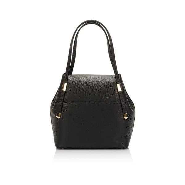 Kožená kabelka Lisa Minardi 5133 Black