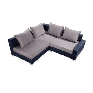 Modro-šedá sedačka Interieur De Famille Paris Aventure, levý roh