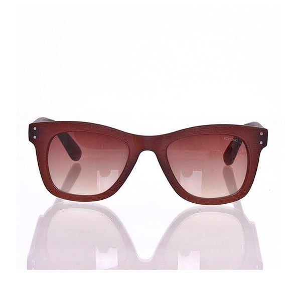 Sluneční brýle Woody Mahagony