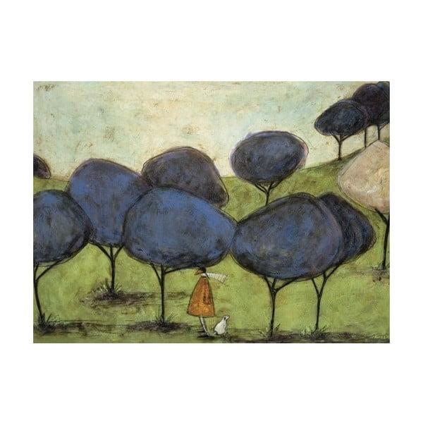 Obraz na plátně V aleji od Sam Toft, 80x60 cm