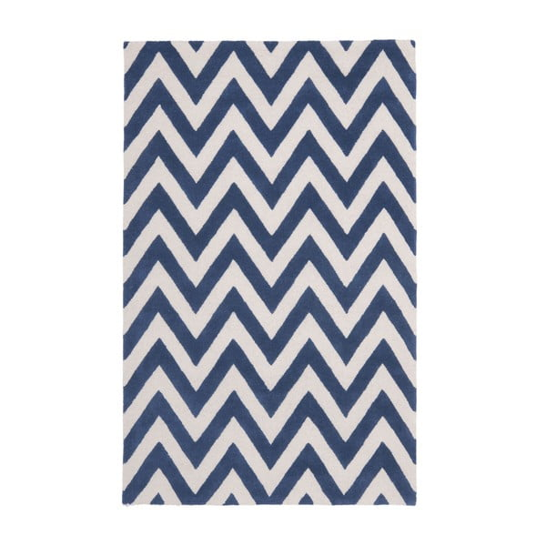 Niebieski dywan Safavieh Stella, 243x152 cm
