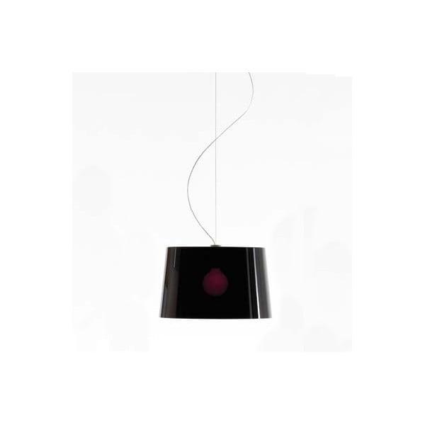 Černé závěsné světlo Pedrali L001S/B