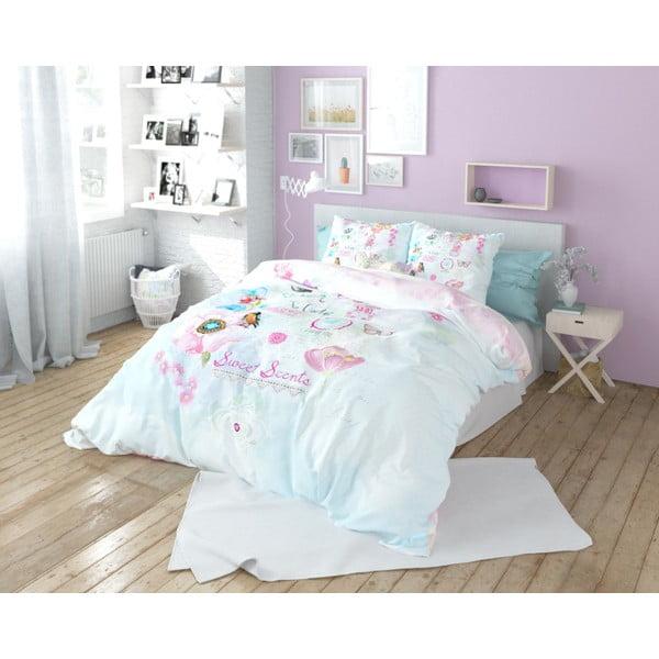 Lenjerie de pat din bumbac Dreamhouse So Cute Jetje, 240 x 220 cm