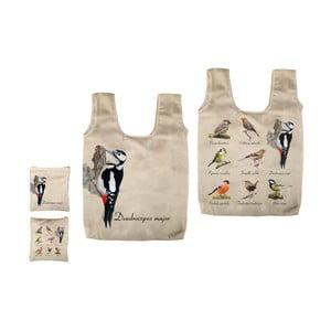 Skládací taška s potiskem ptáčků Ego Dekor Fly