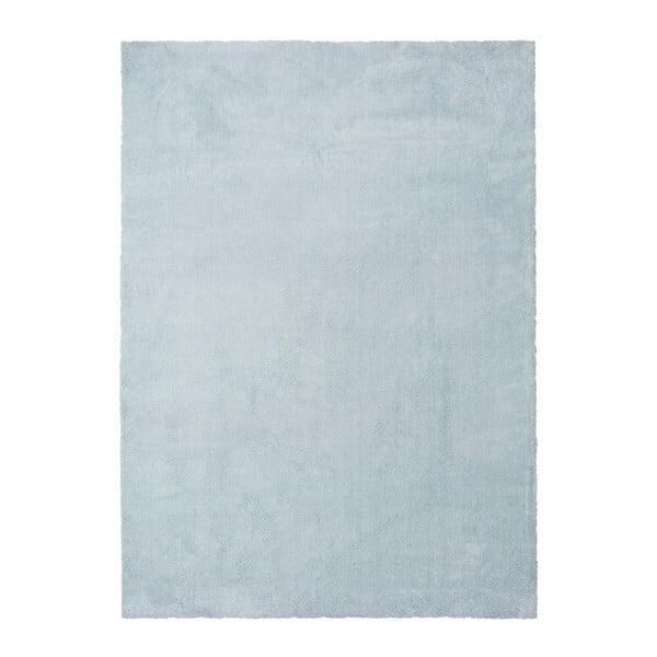 Světle modrý koberec Universal Olimpia Liso Blue, 160 x 230 cm