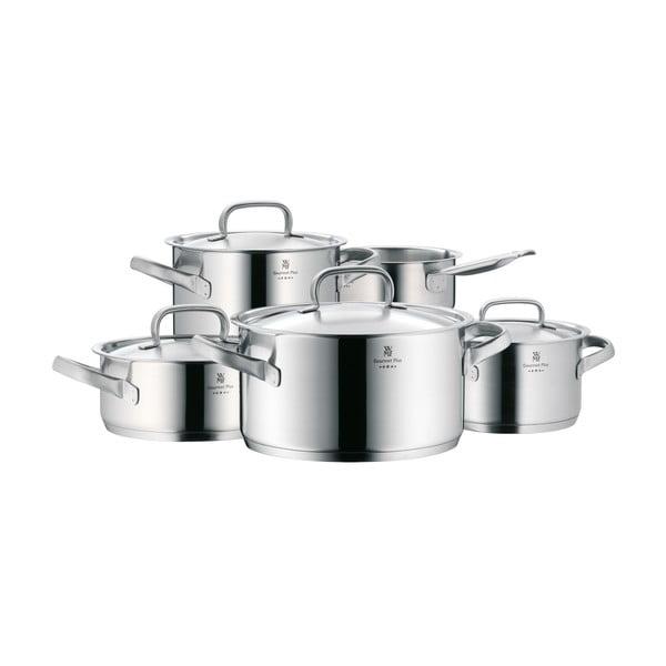 Sada 5 nerezových hrnců s poklicemi WMF Cromargan® Gourmet Plus