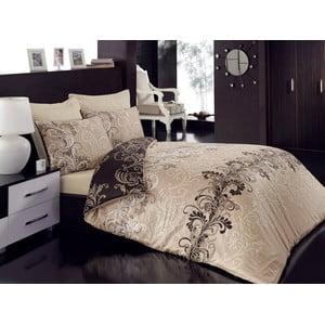 Lenjerie de pat cu cearșaf Cemile, 200 x 220 cm