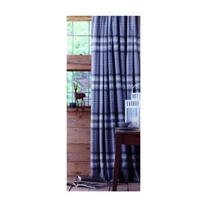 Set 2 draperii Catherine Lansfield Kelso, 168 x 183 cm, albastru