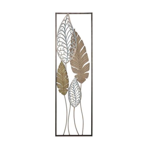 Kovová nástěnná dekorace Mauro Ferretti Foglie II, délka