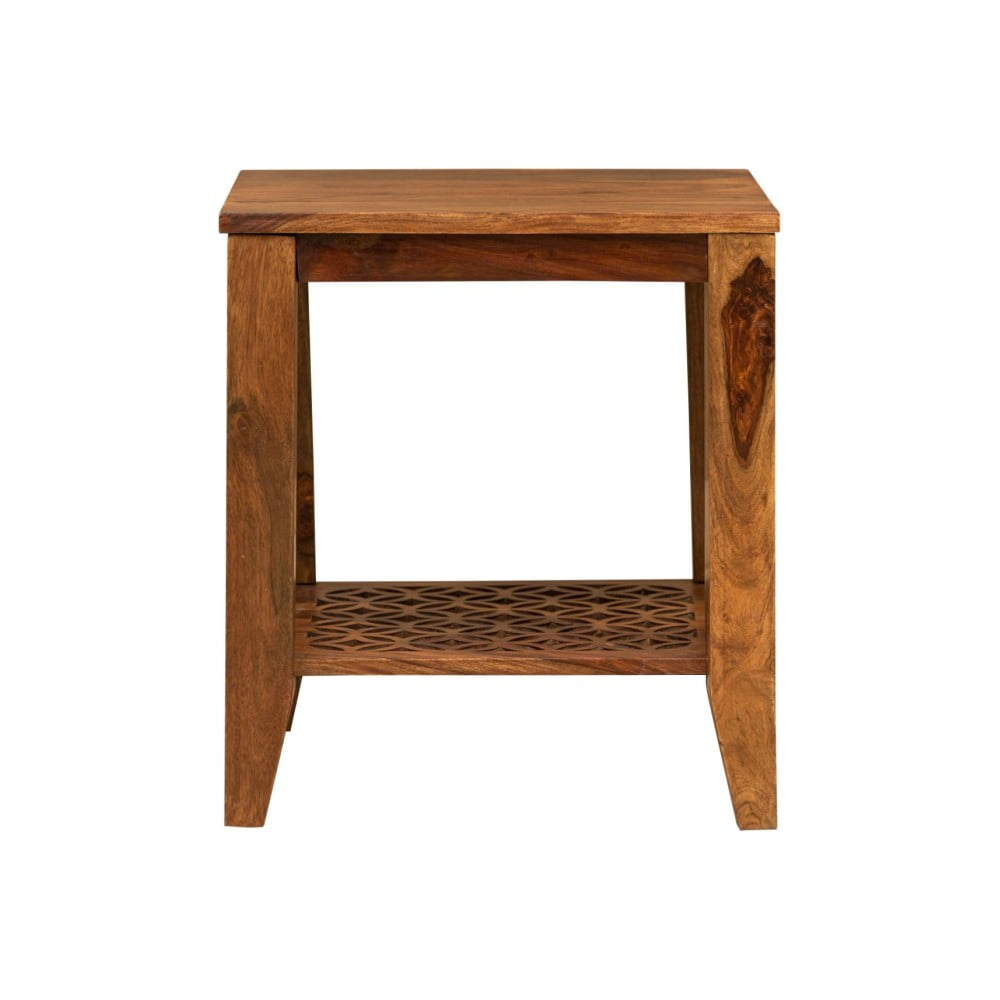 Odkládací stolek z palisandrového dřeva Massive Home Rosie